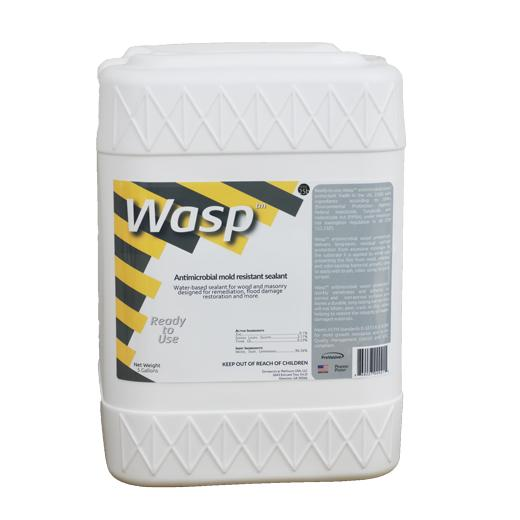wasp antimicrobial mold resistant sealant
