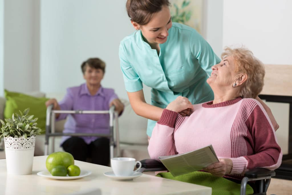 nursing home sanitize and disinfect